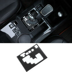 For Toyota 4runner 2010-2020 Gear Shift Panel Cover Trim Carbon Fiber Accessory