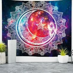 59quot;Celestial Wall Hanging Tapestry Art Decoration Bedroom Living Room Picnic Mat
