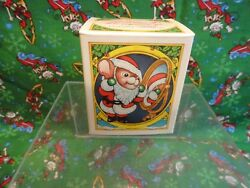 Avon Ornament 1983 Melvin P Merrymouse Mouse Mice Nut Shell In Box Unopened New