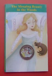 Isle Of Man 2007 Sleeping Beauty 1 Crown Color Copper-nickel Coin In Card