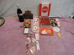 Vintage Coca-cola Collectible Items Being Sold As 1 Lot With Free Shipping