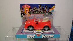 Vintage Collectible Chevron Toy Cars - Rudy Ragtop 1999 New Sealed