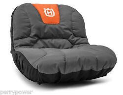 New Oem Husqvarna Tractor Seat Cover For Armrests 588208703 With Gear Pockets