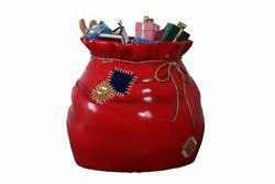 Christmas Gifts Sack Photo Op Holiday Display Life Size Statue