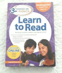 Learn To Read Hooked On Phonics System Kindergarten Levels 1and2 Ages 4-6
