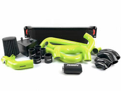 Perrin Front Mount Intercooler Fmic W/ Boost Pipings For 18-20 Sti Black