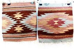 """SOUTHWEST TAPESTRY 2ea. approx 12½"""" x 14"""""""