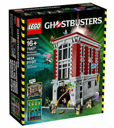 Lego Ghostbusters Firehouse Headquarters 75827 New Factory Sealed Box Retired