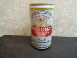 National Bohemian Beer 9 Brewing Pull Tab Beer Can Great Condition Ale Lager