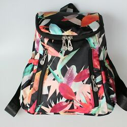 nylon woman backpack women small flower travel bag ladies shoulder bags Day pack $23.80