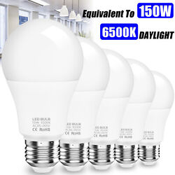150w 50w Equivalent Led Light Bulb Replace 6500k Daylight Clear White E26/27