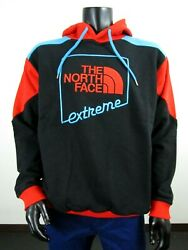 NWT Mens TNF The North Face Extreme PO Hoody Hoodie Sweatshirt Black $80 $71.20