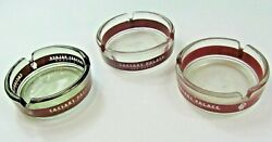 3 Diff Vintage Caesar's Palace Hotel And Casino Ashtrays Las Vegas Nv No Chips