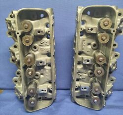 1962-1965 Gm Buick 198 V6 Cylinder Heads 1354391 Reconditioned