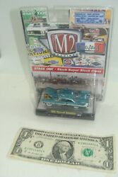 M2 Machines - Auto Drags - Release 2 - Turquoise 1958 Plymouth Belvedere - 2009