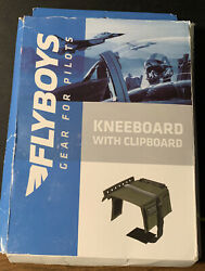 Flyboys Ifr/vfr Pilot Kneeboard W/ Clip - Green - Military Or Civilian - Fb1316