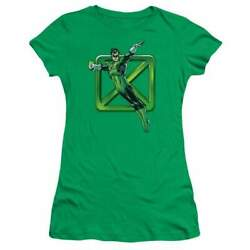 DC Comics Green Cross Juniors T Shirt $22.95