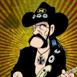 Lemmy By Anthony Parisi Limited Edition Print