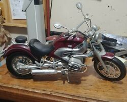 1999 Red Bmw R1200c Motorcycle 18 Tinplate Antique Style Model