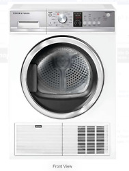 Fisher And Paykel De4024p1 24andrdquo Condensing Ventless Electric Dryer New In The Box