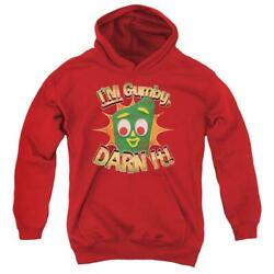 Gumby Darn It Youth Hoodie Ages 8-12