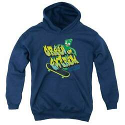 Gumby Green And Extreme Youth Hoodie Ages 8-12