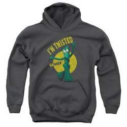 Gumby Twisted Youth Hoodie Ages 8-12