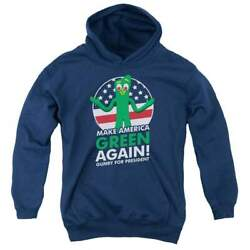 Gumby For President Youth Hoodie Ages 8-12