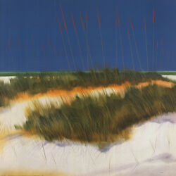 39wx39h Dunes By Robert Holman - Grass Sand Blue Background Choices Of Canvas