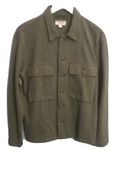 Nwt J.crew Wallace And Barnes Menandrsquos Textured Casual Shirt Jacket Olive Size Xs
