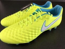 Womens Nike Magista Opus Ii Ag Pro Acc Soccer Cleats Volt Yellow 844218-718 8.5