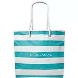 MoroccanOil Beach Bag Tote Bag STRIPED BRAND NEW $9.75