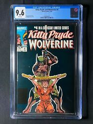 Kitty Pryde And Wolverine 4 Cgc 9.6 1985