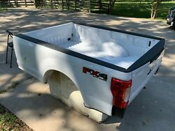 Brand New 2020 F250 8ft Complete Truck Bed With Lights And Tailgate