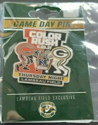 2017 Chicago Bears Vs Green Bay Packers Game Day Pin 9/28/17 New Free Shipping