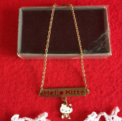 Rare 1976 Sanrio Hello Kitty Vintage Bracelet With Box Made In Japan