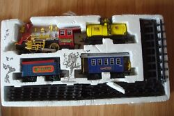 Traditional Eastern Express Battery Operated Model Train And Tracks Set