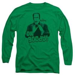 The Munsters Oh Goody Menand039s Long Sleeve T-shirt