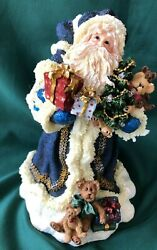 Boyds Holiday Collection - Resin Santa Lights Up - Father Frostnick