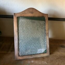 Rare English Mappin And Webb 1919 Antique Silverplate Vintage Table Top Frame