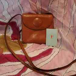 HOBO SMALL SQUARE TAN CROSSBODY BAG NEW WITH TAGS $50.00