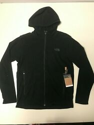 The North Face Men#x27;s TKA Glacier Full Zip Hoodie Black size M $43.00