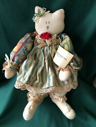 Williamsburg Country Fare - 15 Primitive Raggedy Cat Doll - Miss Millie