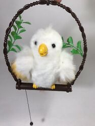 Perch Pals Lela Love Singing Bird Battery Operated Moving Animal Toy Dg87 1988