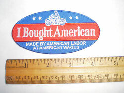 Indian Harley I Bought American Motorcycle Patch-great Present-free Shipping