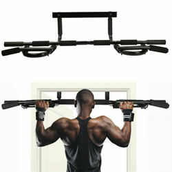 Pull Up Bar Exercise Heavy Duty Doorway Fitness Home Gym Upper Body Workout Men