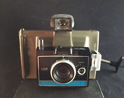 Vintage Polaroid Colorpack Ii Land Camera W/ Carrying Case Untested