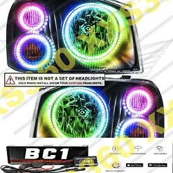 Oracle Headlight 6x Halo Ring Kit For Nissan Frontier 01-04 Colorshift Led Bc1