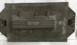 Original 1960s Casting Plate Say-why-and Weiand Chevrolet Corvair Valve Cover