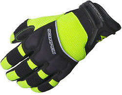 Scorpion Cool Hand Ii Menand039s Gloves Neon Sm
